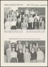 1967 High Point Central High School Yearbook Page 156 & 157
