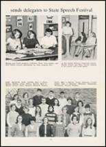 1967 High Point Central High School Yearbook Page 166 & 167