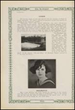 1923 Gonzales High School Yearbook Page 54 & 55