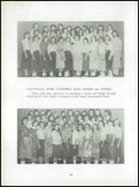 1956 Boonsboro High School Yearbook Page 34 & 35