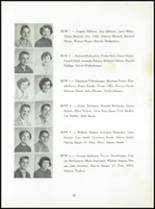 1956 Boonsboro High School Yearbook Page 60 & 61