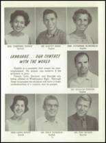 1961 Washington High School Yearbook Page 18 & 19