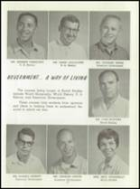 1961 Washington High School Yearbook Page 20 & 21