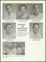 1961 Washington High School Yearbook Page 22 & 23