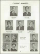 1961 Washington High School Yearbook Page 36 & 37