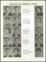1961 Washington High School Yearbook Page 38 & 39