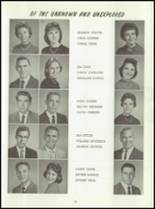 1961 Washington High School Yearbook Page 40 & 41