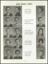 1961 Washington High School Yearbook Page 42 & 43