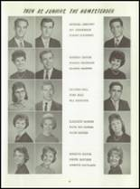 1961 Washington High School Yearbook Page 44 & 45