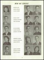1961 Washington High School Yearbook Page 46 & 47