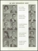1961 Washington High School Yearbook Page 54 & 55