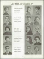 1961 Washington High School Yearbook Page 56 & 57