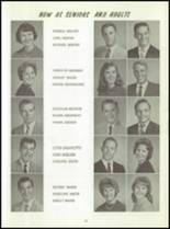 1961 Washington High School Yearbook Page 58 & 59