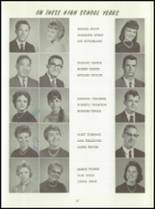 1961 Washington High School Yearbook Page 60 & 61