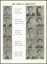 1961 Washington High School Yearbook Page 62 & 63