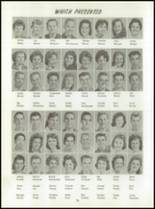 1961 Washington High School Yearbook Page 74 & 75