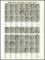 1961 Washington High School Yearbook Page 82 & 83