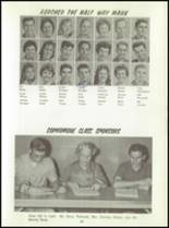 1961 Washington High School Yearbook Page 86 & 87
