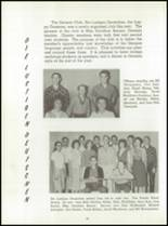 1961 Washington High School Yearbook Page 102 & 103