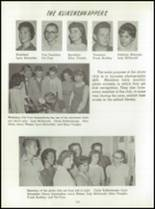 1961 Washington High School Yearbook Page 106 & 107