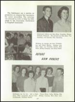 1961 Washington High School Yearbook Page 110 & 111