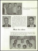 1961 Washington High School Yearbook Page 126 & 127