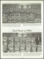 1961 Washington High School Yearbook Page 154 & 155