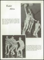 1961 Washington High School Yearbook Page 156 & 157