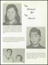 1961 Washington High School Yearbook Page 192 & 193