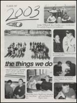 2003 Williams High School Yearbook Page 20 & 21