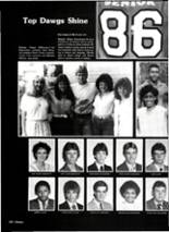 1986 Carthage High School Yearbook Page 156 & 157
