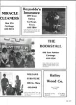 1986 Carthage High School Yearbook Page 260 & 261