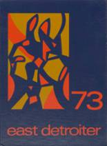 1973 Yearbook East Detroit High School