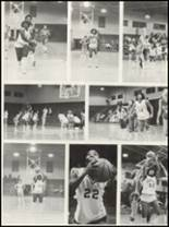 1981 Campbellsville High School Yearbook Page 110 & 111