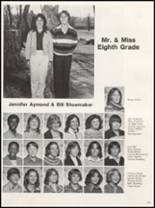 1981 Campbellsville High School Yearbook Page 128 & 129