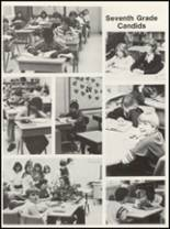 1981 Campbellsville High School Yearbook Page 134 & 135