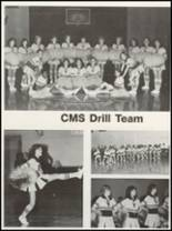 1981 Campbellsville High School Yearbook Page 152 & 153