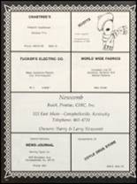 1981 Campbellsville High School Yearbook Page 166 & 167