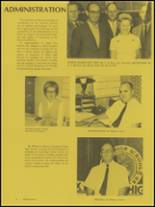 1970 Galax High School Yearbook Page 12 & 13
