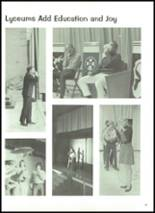1972 Robinson High School Yearbook Page 34 & 35