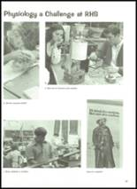 1972 Robinson High School Yearbook Page 36 & 37