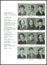 1972 Robinson High School Yearbook Page 54 & 55