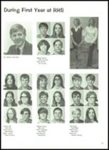 1972 Robinson High School Yearbook Page 78 & 79