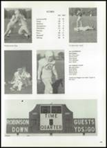 1972 Robinson High School Yearbook Page 142 & 143