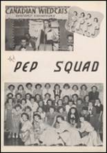 1952 Canadian High School Yearbook Page 60 & 61