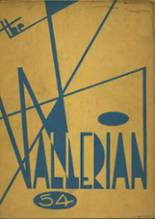 1954 Yearbook Waller High School