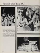 1981 Peterson High School Yearbook Page 32 & 33