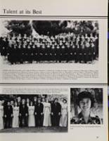 1981 Peterson High School Yearbook Page 40 & 41