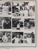 1981 Peterson High School Yearbook Page 70 & 71
