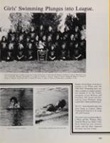 1981 Peterson High School Yearbook Page 156 & 157